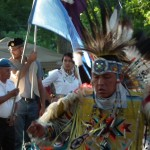 Head Dancer at the COTTFN Annual Competition Powwow