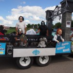 This float took first place at the Homecoming Parade 2012